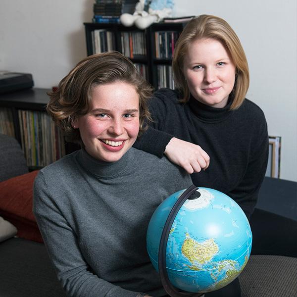 Anuna De Wever en Kyra Gantois - affaire climat - klimaatzaak